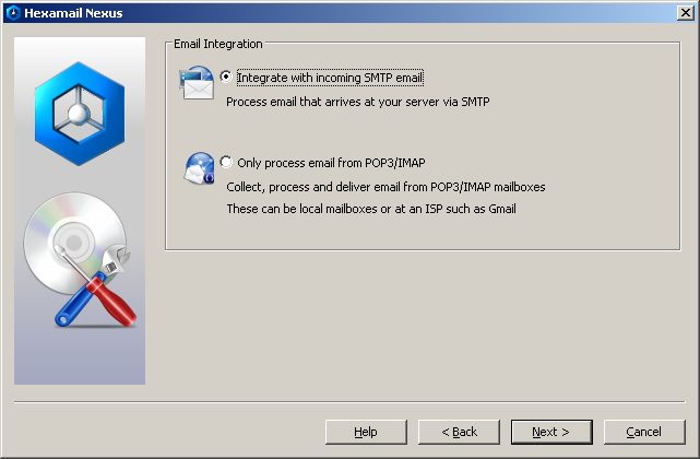 Configuring Email Integration