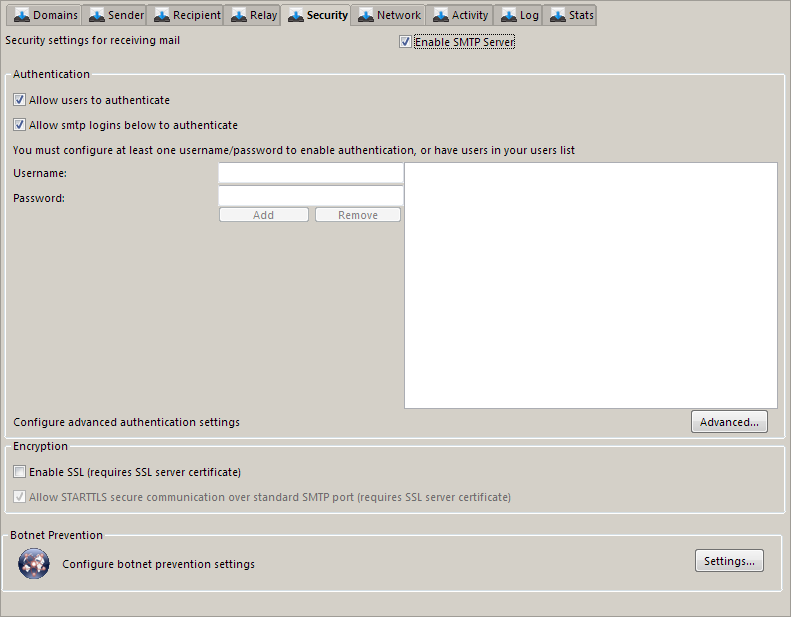 Hexamail Guard Administration Guide Smtp Server Security